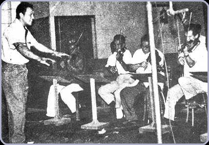 P. Ramlee juga berkebolehan mengajar dan mengarah muzik