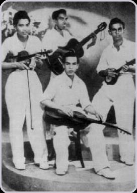 P. Ramlee bersama Teruna Sekampong (1947)