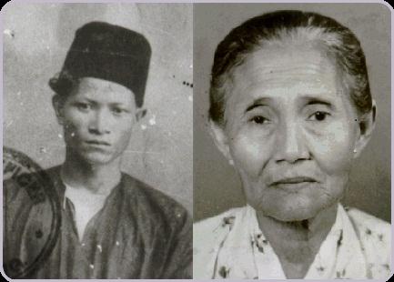 Gambar ayah dan ibu P. Ramlee