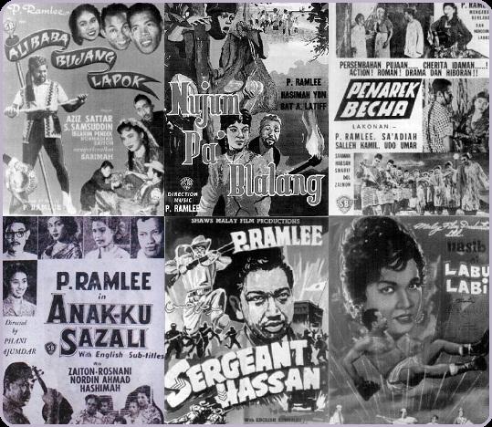 Antara poster filem yang dilakon dan diarahkan oleh P. Ramlee